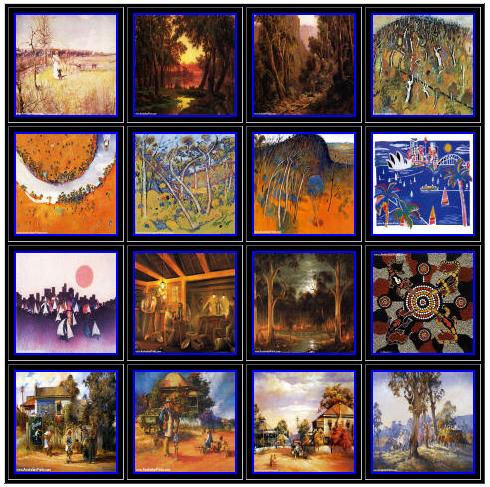 Art prints gallery - art images thumbnail galleries